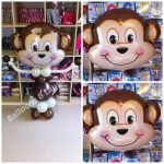 Cheeky Monkey Helium Balloons from Balloons and Laughter in Witham, Essex UK near Braintree, Colchester and Chelmsford